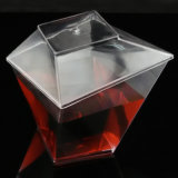 فنجان بلاستيكيّة مستهلكة فنجان دوامة مربّع فنجان 5.5 [أز] أداة مائدة