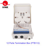 12 Kanal-Faser-Optikkabel-Endpunkt-Kasten (PTB112)