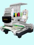 Única máquina principal do bordado da alta qualidade com bordado liso do t-shirt do tampão de 3 funções
