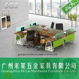 Mesa de escritório inteira do frame de aço da venda com gabinete