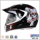 Motorcross 직업적인 빛나는 까만 헬멧 (CR407)