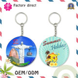 Diametro 32~50mm Keychain Gift Metal Promotion Key Chain