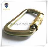 Metal Carabiner dos acessórios do chicote de fios de segurança (DS24-2)