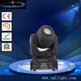 RGBW 1PC 60W LED 광속 이동하는 맨 위 빛을%s 가진 새로운 소형 마술 점 LED DJ 디스코 빛