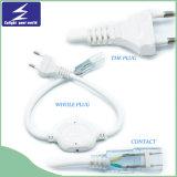 plugue de 110V/220V 0-50m para a luz de tira do diodo emissor de luz