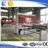 Máquina de estaca de EVA da cabeça do curso do CNC com auto sistema do assentamento