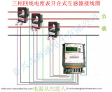 Core fendu de Current Transformer 50A/5A 2.0class