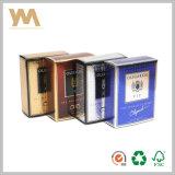 Neuester glänzender Papierduftstoff-Kasten-Entwurf für Männer