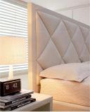 Base di cuoio poco costosa dell'unità di elaborazione dell'alto Headboard della mobilia dell'hotel HK010