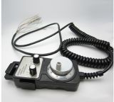 Cable en espiral negro mate de la maneta electrónica