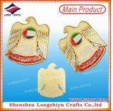 Значка ворота эмали флага UAE отливки значок сувенира национального праздника магнитного средний восточный