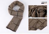 人の方法ウールポリエステルナイロンアクリルの編まれた冬のスカーフ(YKY4620)