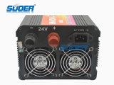 충전기 (HAD-1000D)를 가진 220V에 의하여 변경되는 사인 파동 태양 에너지 변환장치에 Suoer 1000W 24V