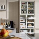 Mobilia laminata bianca della cucina con l'alta qualità