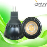 Wit/Black 4W COB GU10 MR16 E27 LED Spotlight Bulb Lamp LED Lighting LED Spot Light