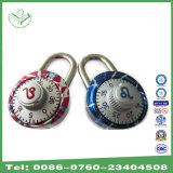 40mm Zodiac Symbol Aluminum Alloy Combination Padlock Red (1503R)