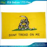История Америка не обрабатывает на мне флаг США Gadsden 1775 (J-NF05F09099)