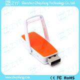 Multi cor que desliza a vara do USB do plástico 8GB com logotipo (ZYF1844)