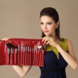 Qualité Professional 15PCS Cosmetic Brush avec Natural Hair