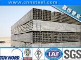 Tube carré d'acier du carbone d'ERW, pipe carrée 30X30mm, constructeur de pipe de grand dos d'acier de 40X60mm