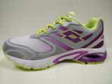 3つのカラー女性安全屋外の運動靴の履物