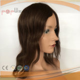 Madame Hair de perruque de lacet de cheveux humains de 100% pleine