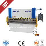 Продукты распределили во всем мире гибочную машину плиты CNC Wc67y 400*2500 гидровлическую