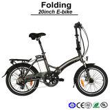 E-Bicyclette se pliante d'E-Vélo du constructeur 36V250W de vélo électrique facultatif puissant électrique professionnel de bicyclette mini (TDN10Z)