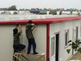 Assembly veloce Sandwich Panel Insulated Prerfabricated Houses in Arabia Saudita
