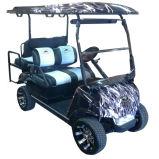 Carrello di golf personalizzato del carrello di golf di colore 2+2seat
