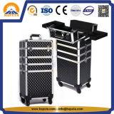 Caisse de chariot à beauté pour les produits de beauté et le renivellement (HB-3312)
