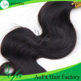7A Grade Unprocessed brasilianisches Remy Hair Virgin Menschenhaar Weft