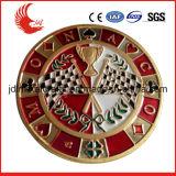 Os estilos que regionais de China o esmalte macio gravou morrem o emblema do metal do molde