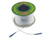 Fiche de faisceau du mode unitaire 1 et câble fibre optique de jeu