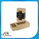 Boîte cadeau en carton matelassé coulissant personnalisé avec tiroir tiroir