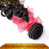Het maagdelijke Diepe Menselijke Haar van de Golf, Onverwerkt Braziliaans Menselijk Haar (fdx-sm-2016-5)