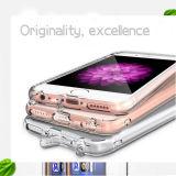 Geval van PC van Combo TPU het Transparante Zachte voor iPhone 6 plus