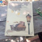 Het Notitieboekje van Kraftpaper Hardcover van de Levering van de fabriek A4