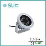 Piccole lampade esterne impermeabili chiare impermeabili di alluminio IP65 del punto LED