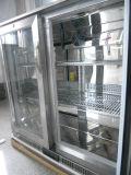 Dukersからの2つのドアのステンレス鋼ビールクーラー