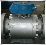"""Válvula de esfera operada engrenagem de Wcb /Lcb do fornecedor de Pdvsa (600LB-24 """")"""