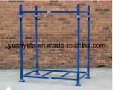 Puder-überzogene stapelbare Lager-Ladeplatten-Zahnstangen-Stahl-Ladeplatten