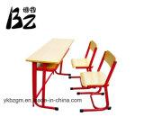 빨간 금속 학생 책상 및 의자 (BZ-0051)