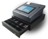 Jepower T508A (Q) registo de dinheiro eletrônico Android da tela de toque do ósmio com impressora