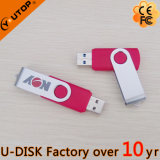 Vitesse tournant le bâton orange en métal USB3.0 (YT-1201-06L2)