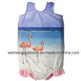Tecido reusável do bebê da nadada, Wetsuit morno, Swimsuit da flutuabilidade. Wm037