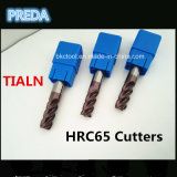 Tialn покрыло резцы карбида HRC65 для затвердетой стали