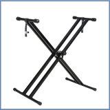 Form-heißer Verkauf des Metalltastatur-Standplatz-X im Markt