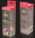 Nova cosméticos projetados caixa de embalagem de plástico caixa de PVC Pet Pet
