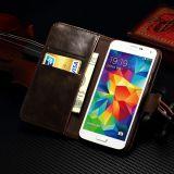 조가비를 가진 Samsung 주 5 S6/S7/S7edge를 위한 예금 카드 가죽 셀룰라 전화 상자